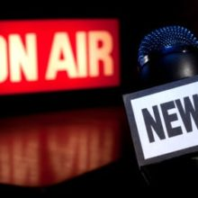 News Microphone On-Air