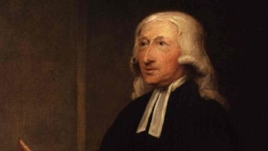 Photo of When You're Tired of Working, Think of John Wesley