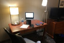 Photo of Tips for Zoom Teaching from Hotel Rooms