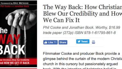 Photo of Announcing Our New Book: The Way Back