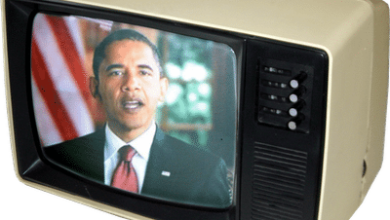 Photo of Declining Broadcast TV Numbers for President Obama's Speeches: